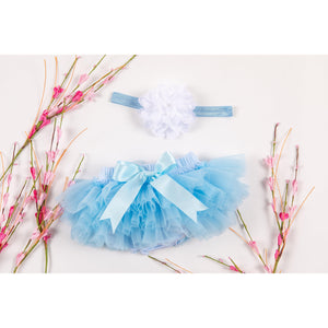 Light Blue Tutu Bloomer-Mila & Rose ®