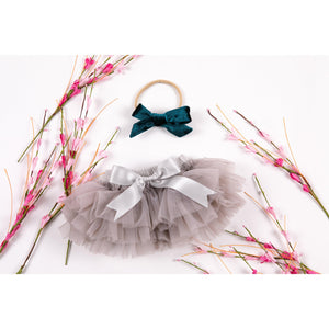 Gray Tutu Bloomer-Mila & Rose ®