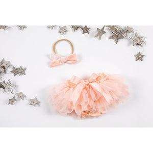 Peach Tutu Bloomer-Mila & Rose ®