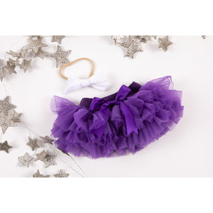Purple Tutu Bloomer-Mila & Rose ®