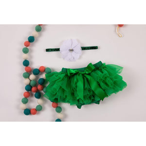 Emerald Green Tutu Bloomer-Mila & Rose ®