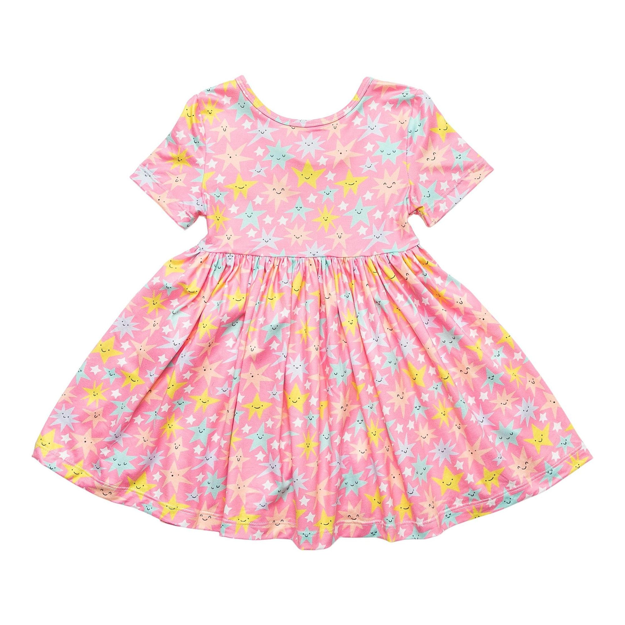 Shine Bright S/S Twirl Dress-Mila & Rose ®