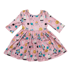 Out of This World Pocket Twirl Dress-Mila & Rose ®