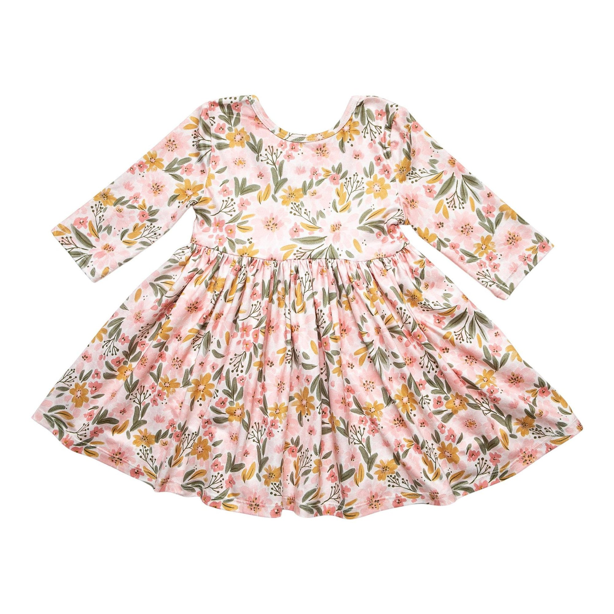 Pretty Peachy Twirl Dress-Mila & Rose ®