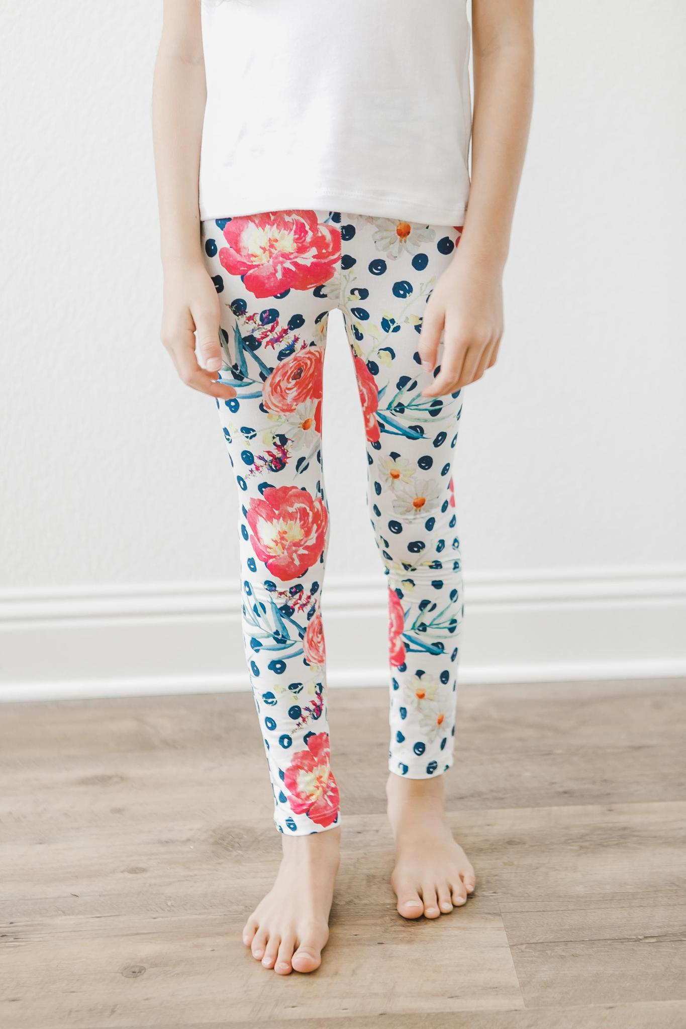 Pop of Color Leggings-Mila & Rose ®