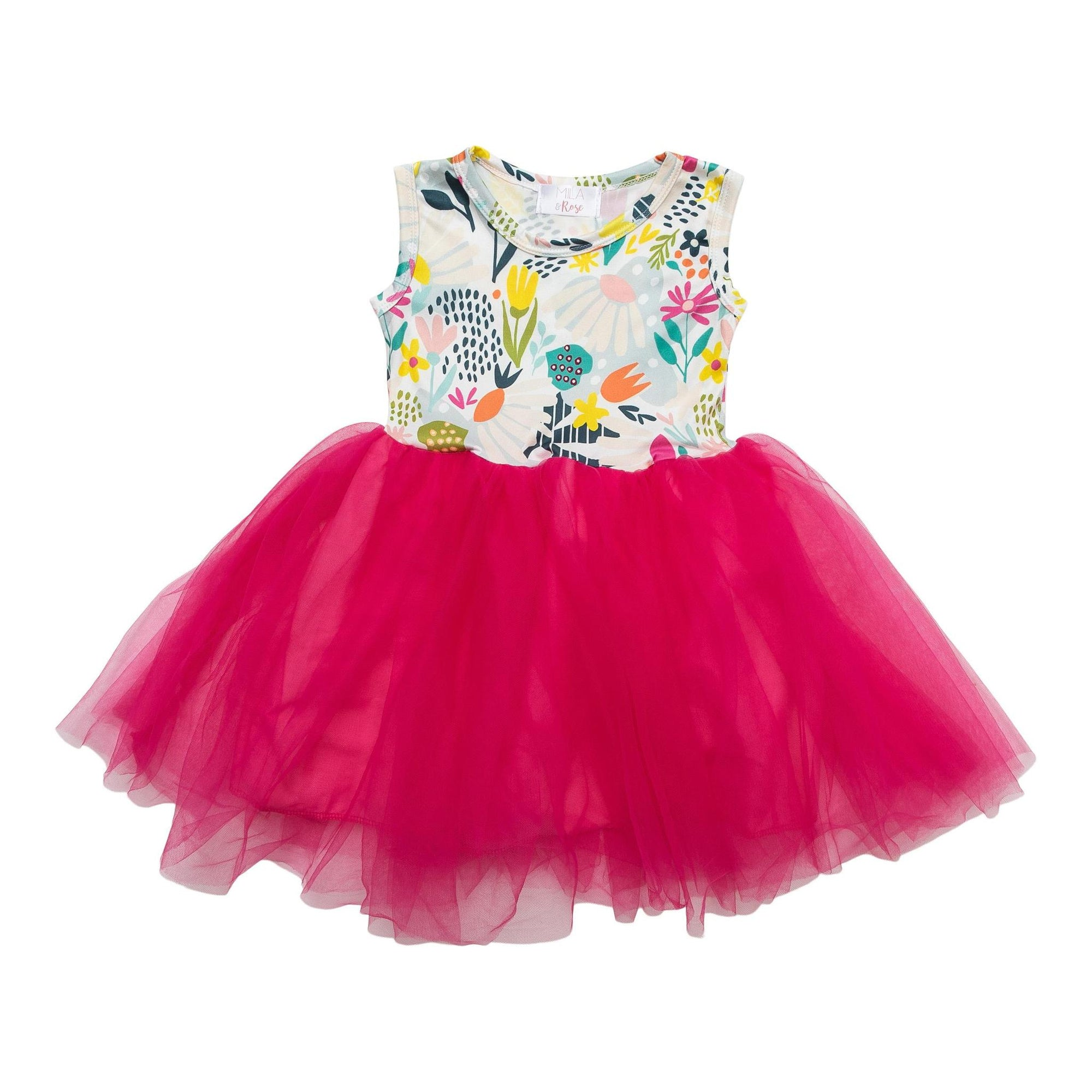 Flower Market Tank Tutu Dress-Mila & Rose ®