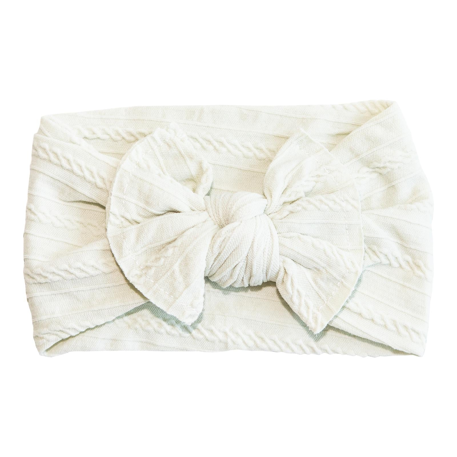 Pearl Cable Knit Nylon Headwrap-Mila & Rose ®