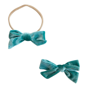 Tropic Velvet Bow-Mila & Rose ®