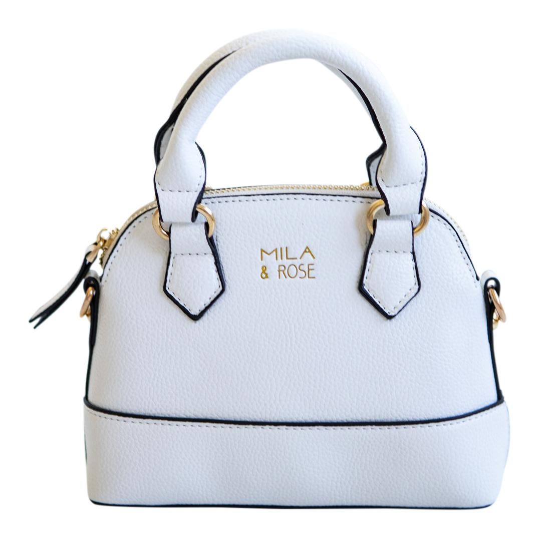 Marshmallow White Girl's Purse-Mila & Rose ®