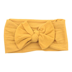 Dandelion Nylon Bow Headwrap-Mila & Rose ®