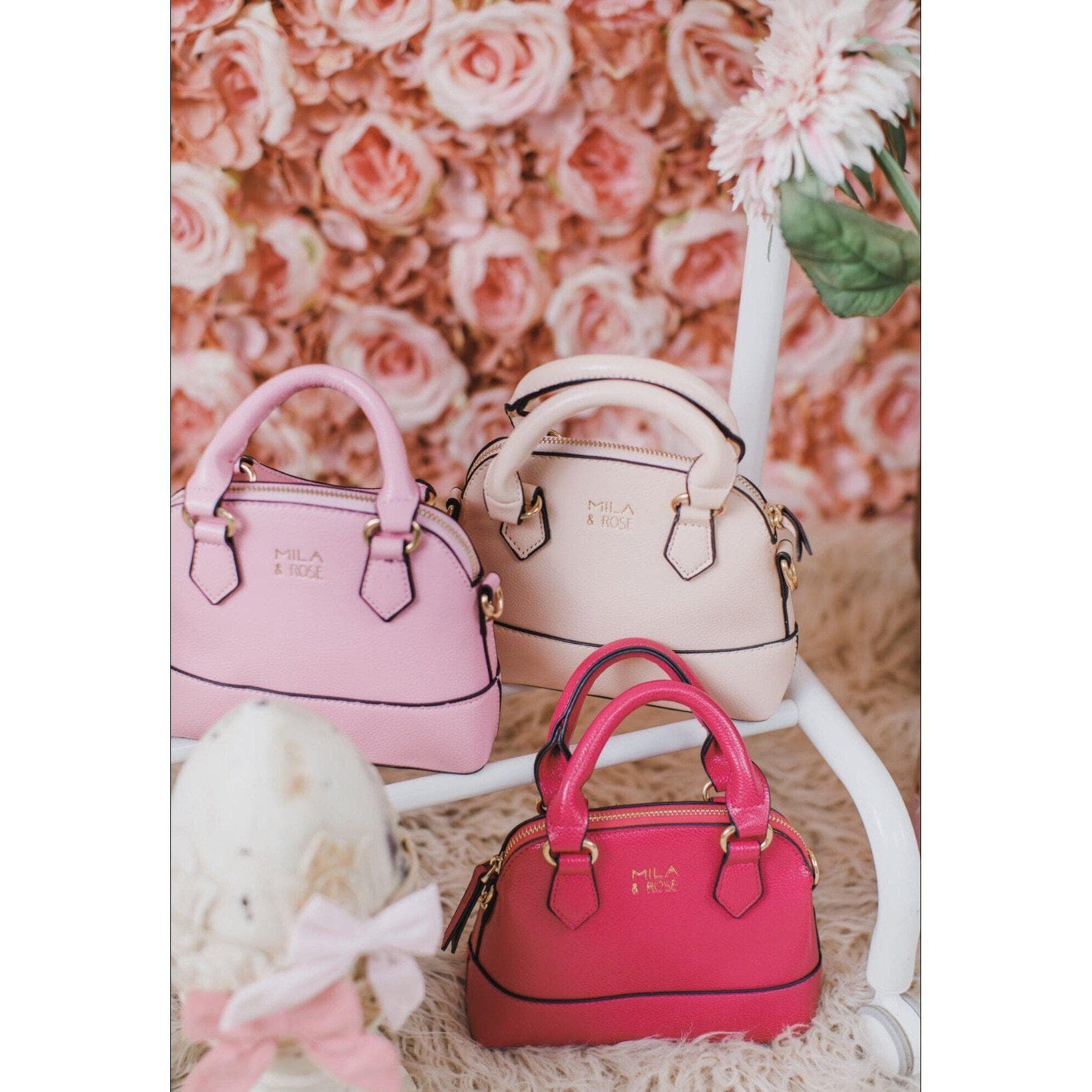 Ballet Pink Girl's Purse-Mila & Rose ®