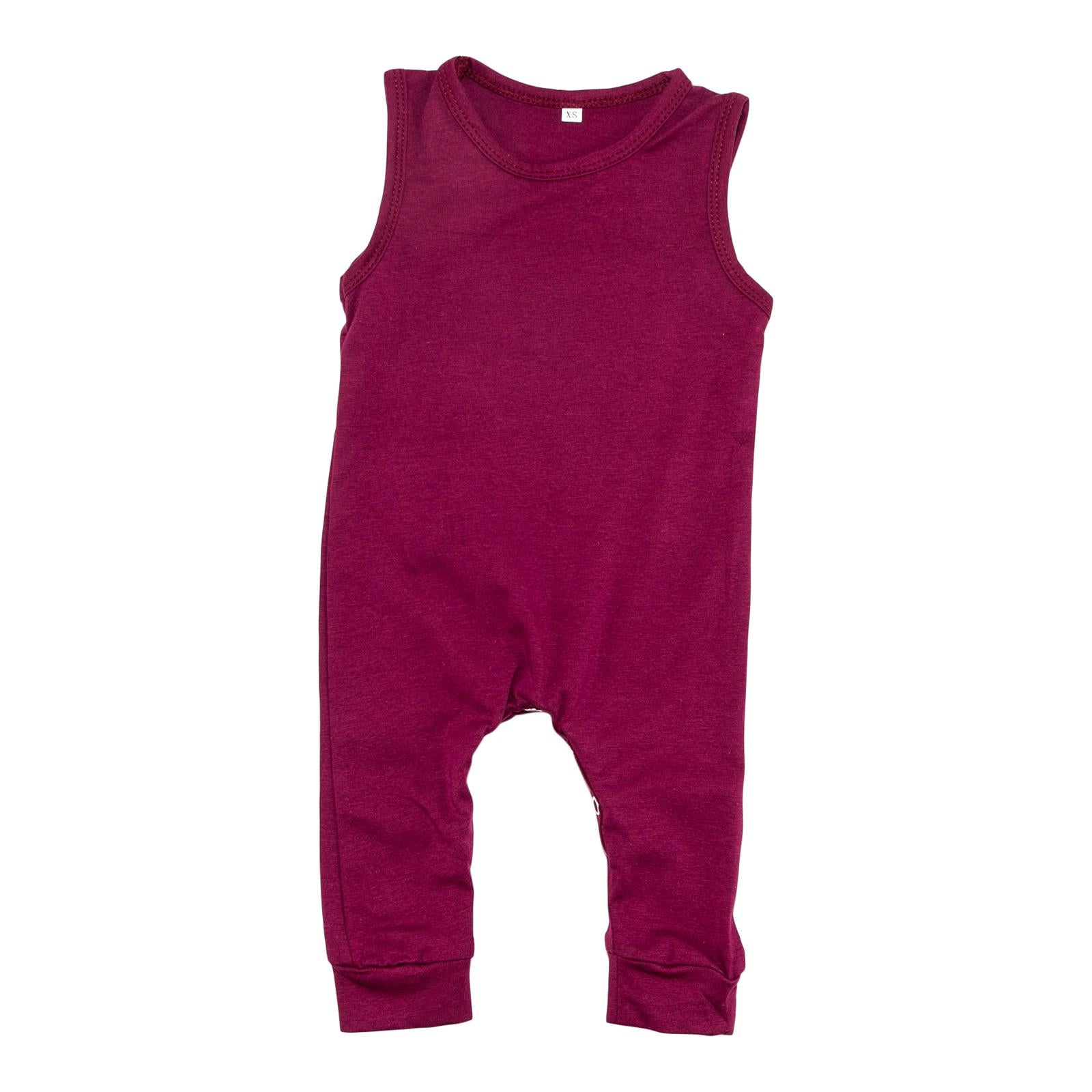 Maroon Tank One-Piece-Mila & Rose ®