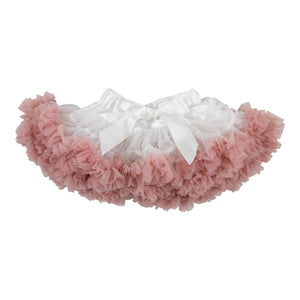 Twirl Tutu™ in Off White & Vintage Pink-Mila & Rose ®