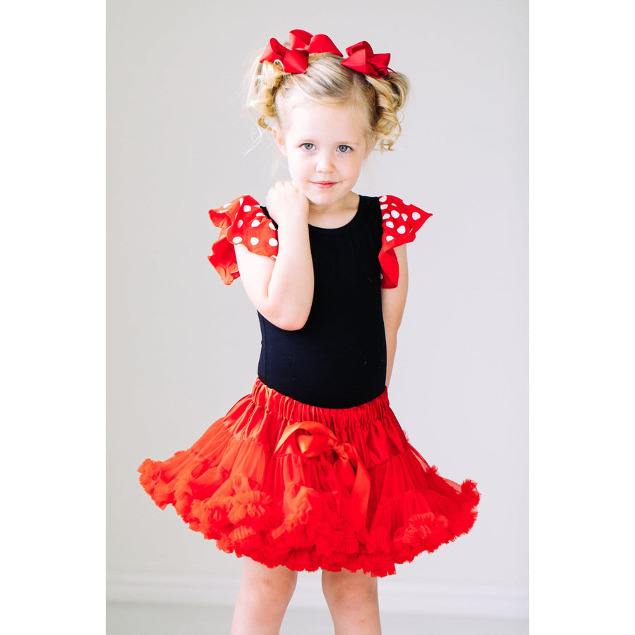 Twirl Tutu™ in Red-Mila & Rose ®