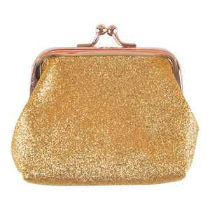 Gold Glitter Coin Purse-Mila & Rose ®