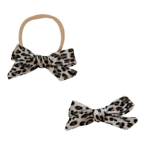 Wild Child Velvet Bow-Mila & Rose ®