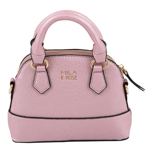 Pink Metallic Girl's Purse-Mila & Rose ®