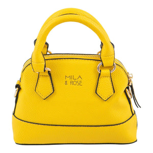 Sunshine Yellow Girl's Purse-Mila & Rose ®
