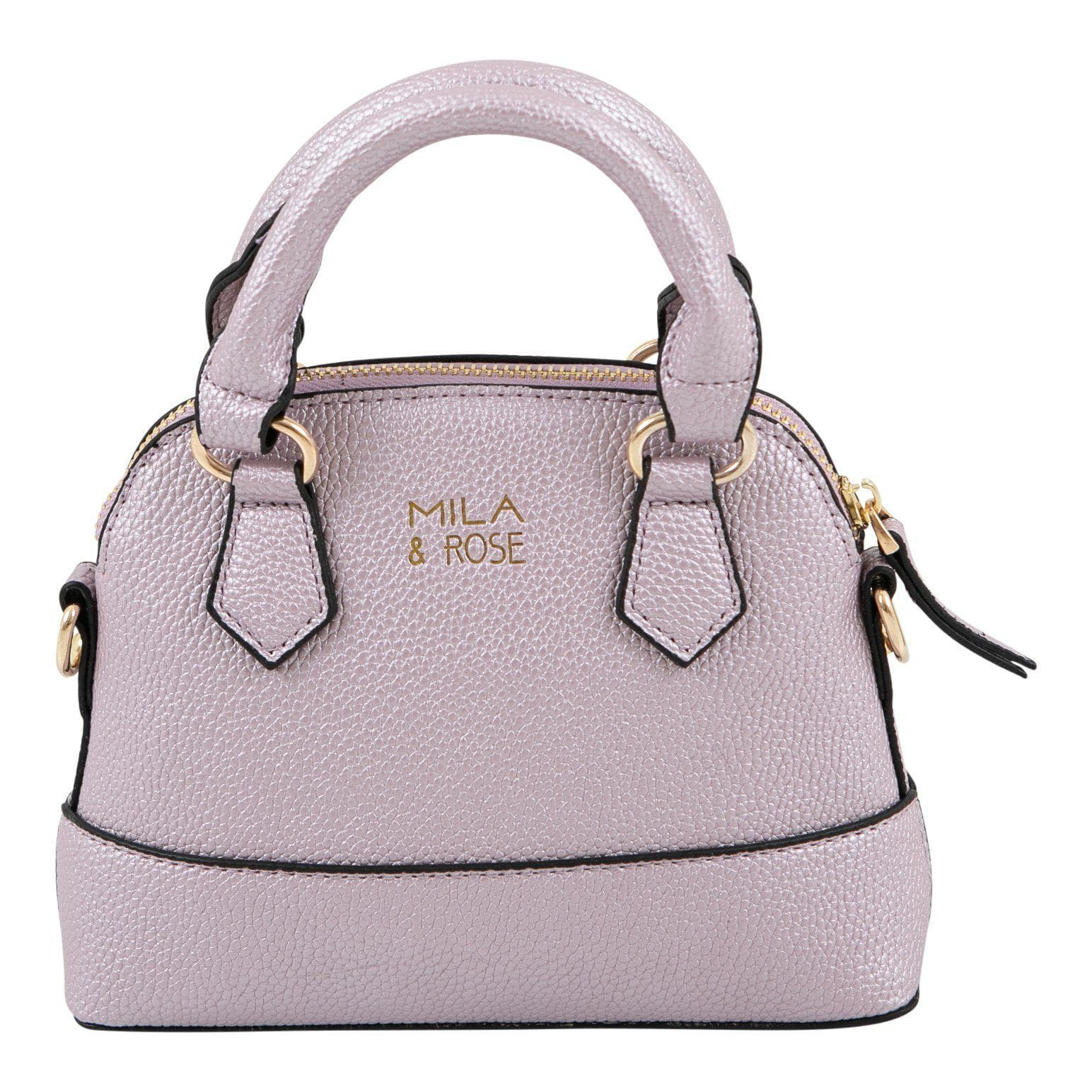 Lavender Metallic Girl's Purse-Mila & Rose ®