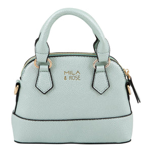 Pastel Green Metallic Girl's Purse-Mila & Rose ®