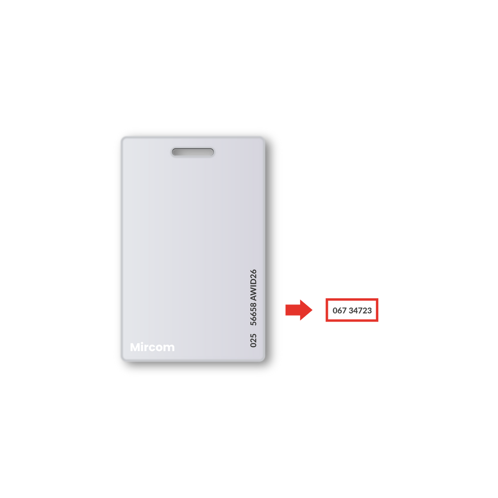 Duplicate Your Mircom Key Card Copy by Serial Number - SUMOKEY
