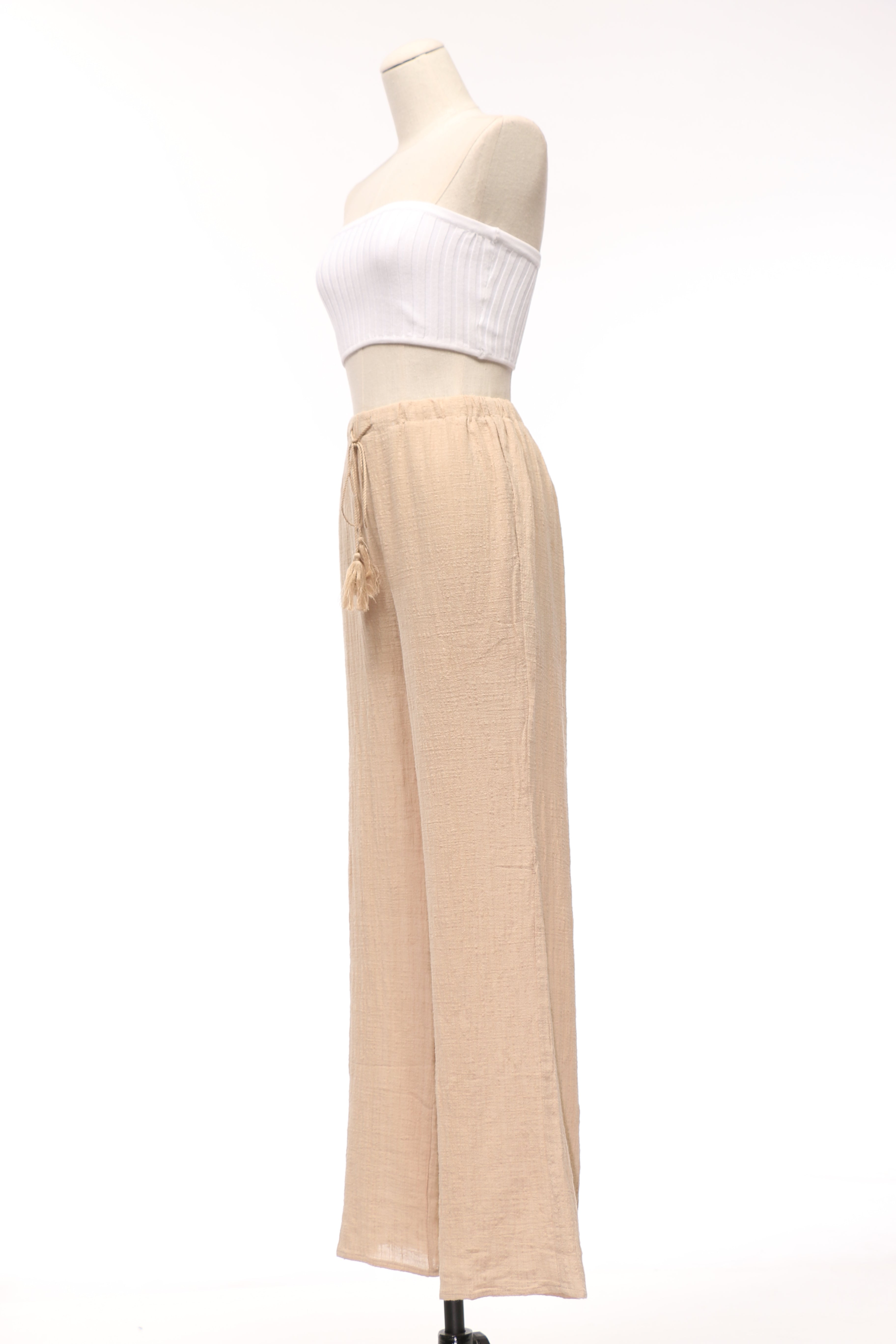 Easy Breezy High Waisted Palazzo Pants - OWLXFISH
