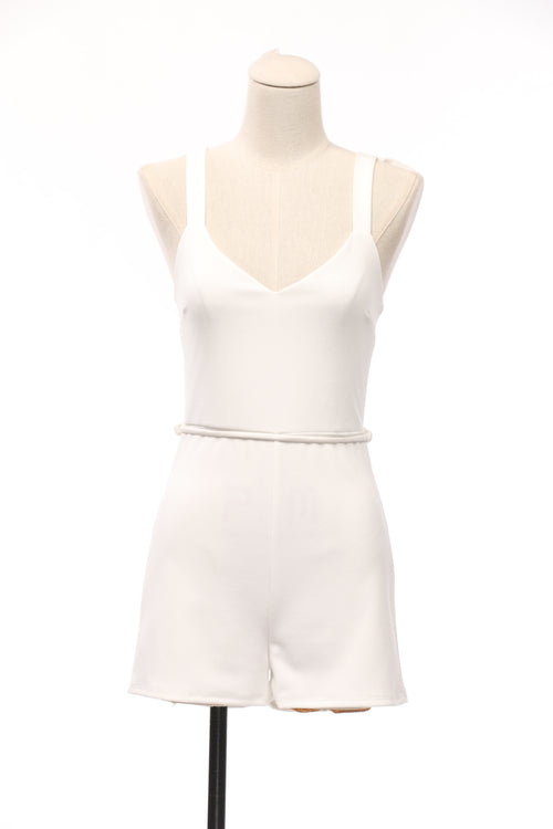 Milk And Honey Ruffle Romper - OWLXFISH
