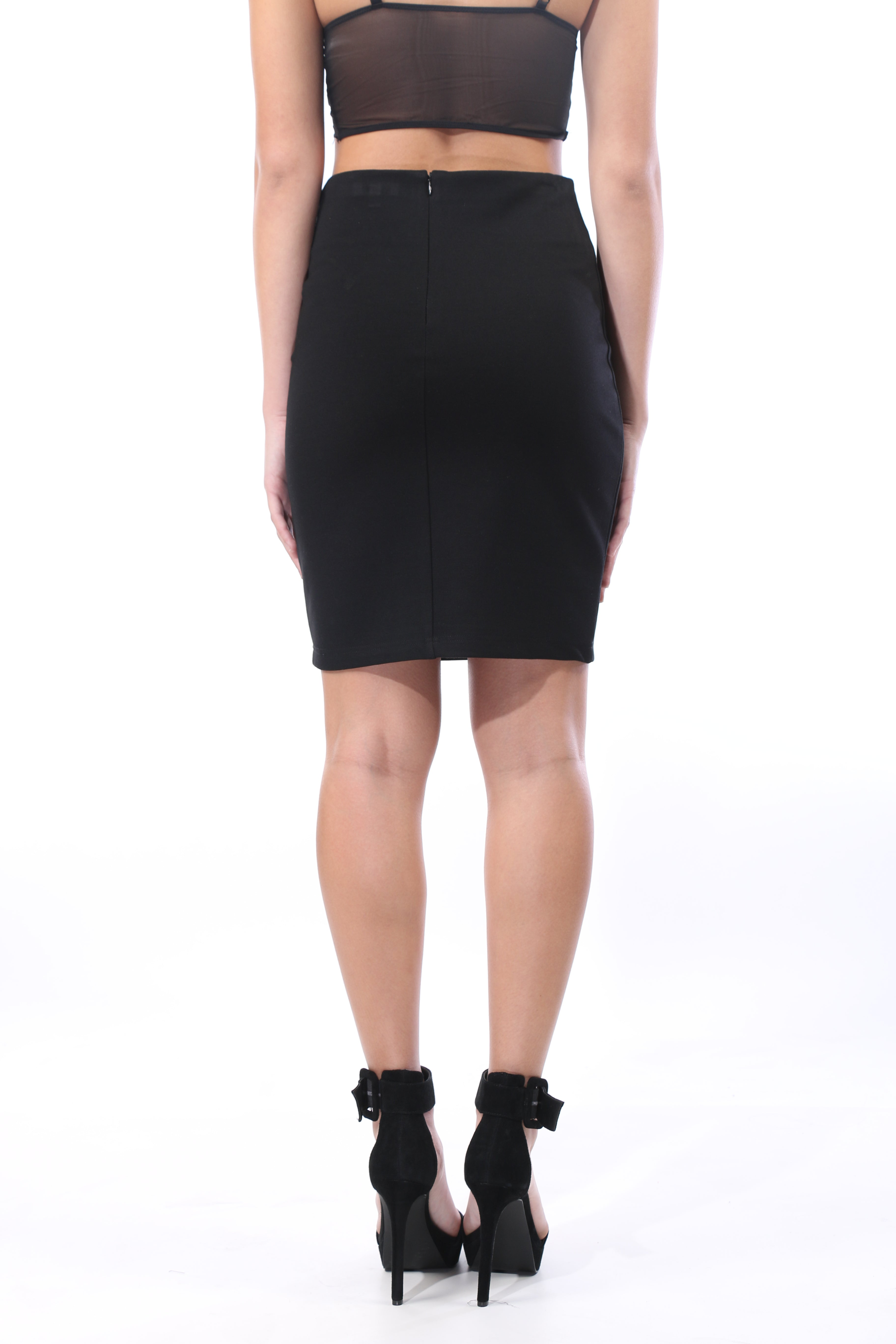 Polly Pencil Mini Skirt - OWLXFISH