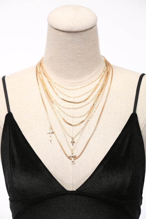 Make a Statement Layered Necklace