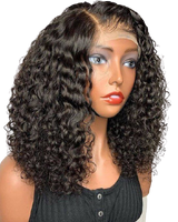Deep wave HD Lace front Wig