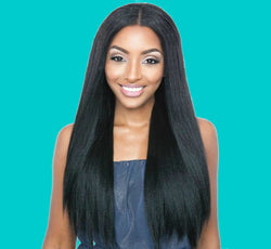 single bundles Straight 8A raw human hair natural color 1B - Remy Dynasty