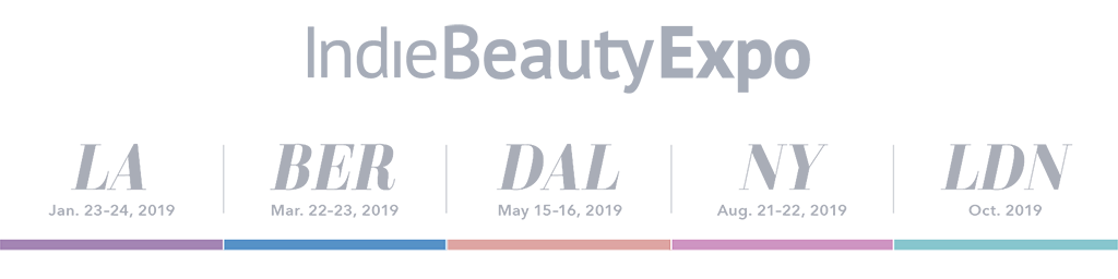 Timeless at the 2019 Indie Beauty Expo