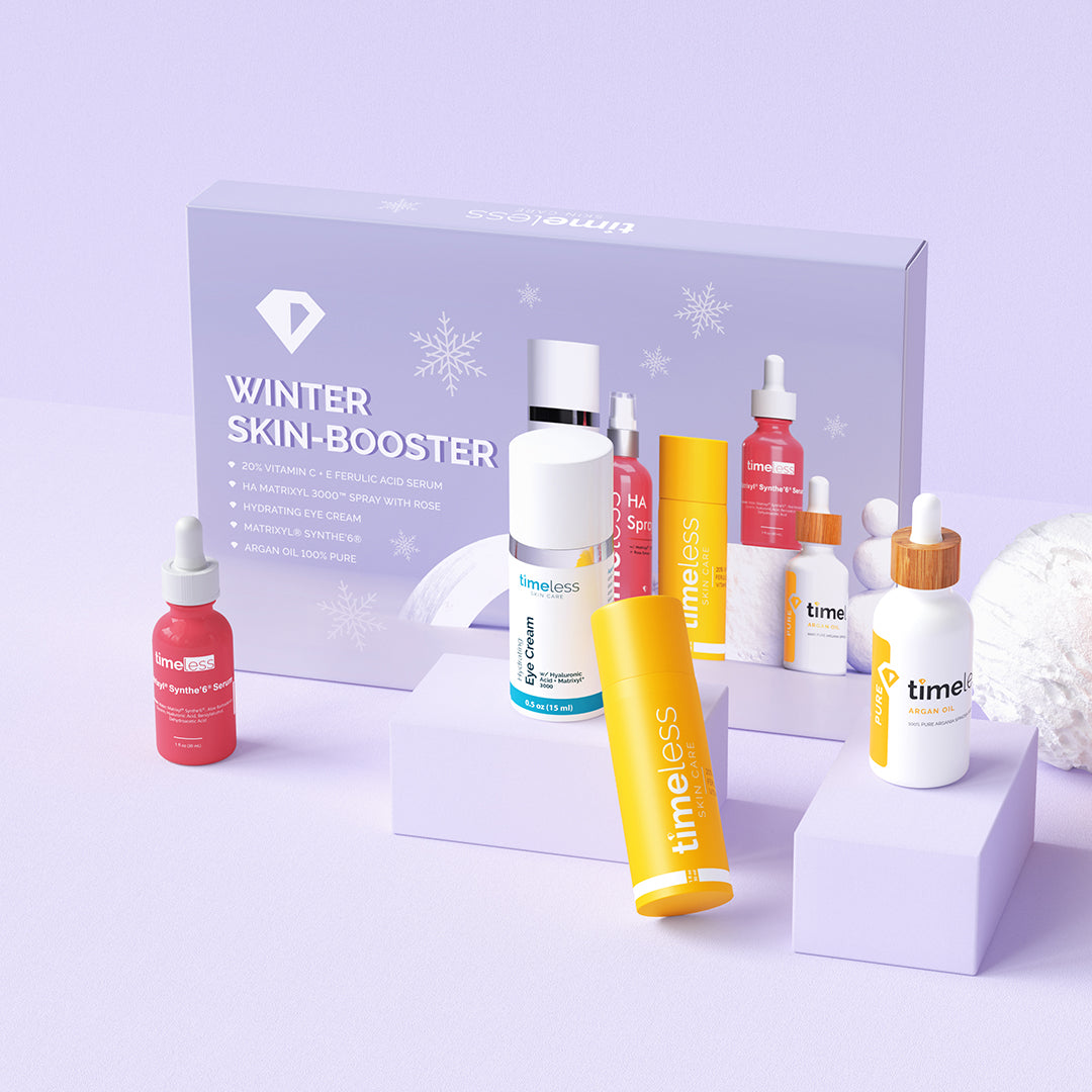 winter skin booster facial kit timeless skin care