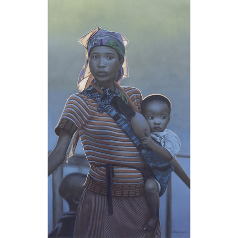 Namibian Woman With Child