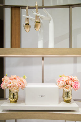 Formé ShoeShapers at Neiman Marcus Flowers by Eddie Zaratsian