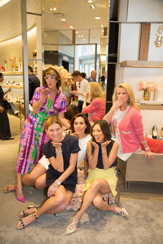Maureen Stockton and Lisa Adams and Penny Rhodes at Neiman Marcus Formé ShoeShaper Insider Preview