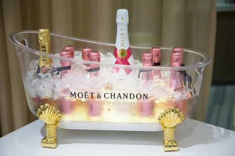 Moet Champagne served at Formé ShoeShaper Neiman Marcus Insider Preview