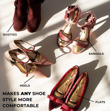 Load image into Gallery viewer, Formé Works In Any Shoe Style Flats Booties And Sandals