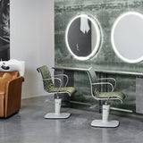 MALETTI ALU WASH STAND - spacesalonfurniture