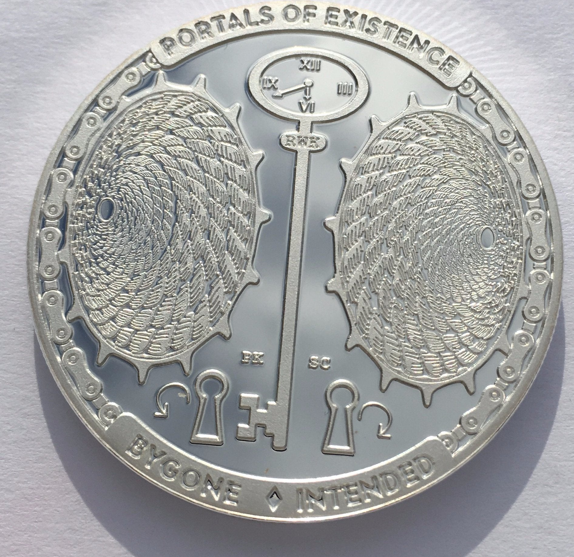 Portal Of Existence 1 oz .999 Silver Capsuled Proof-Like Round Series T.I.M.E