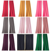 5 Ft Wide X 10 Ft Tall Curtain Polyester Backdrop High Quality Drape Rod Pocket [Pick A Color]