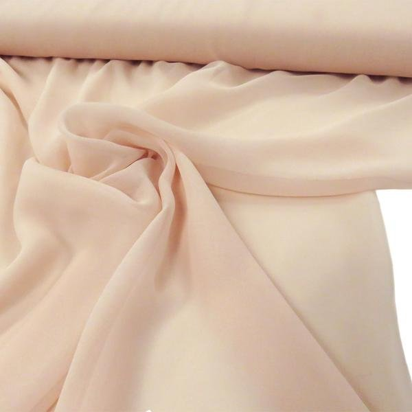 Hi Multi Chiffon Fabric - Blush - Chiffon High Quality Design Fabric Sold By The Yard 60