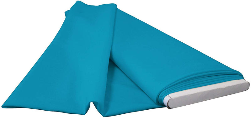 Polyester Poplin - Dark Turquoise - Flat Fold Solid Color 60
