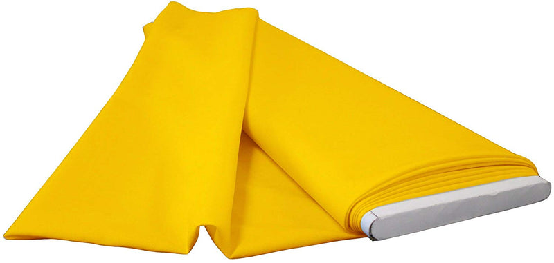 Polyester Poplin - Dark Yellow - Flat Fold Solid Color 60