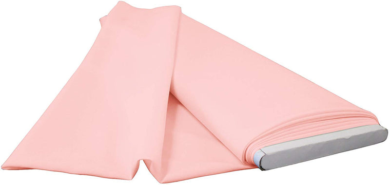 Polyester Poplin - Light Pink - Flat Fold Solid Color 60