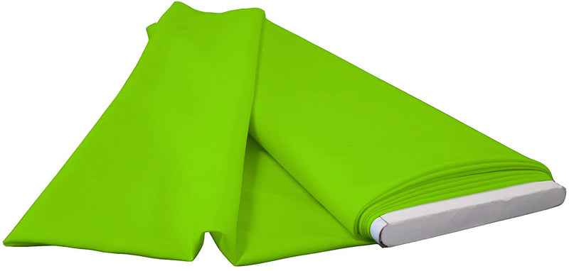 Polyester Poplin - Lime - Flat Fold Solid Color 60