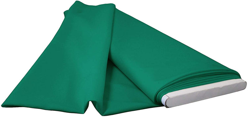 Polyester Poplin - Teal - Flat Fold Solid Color 60