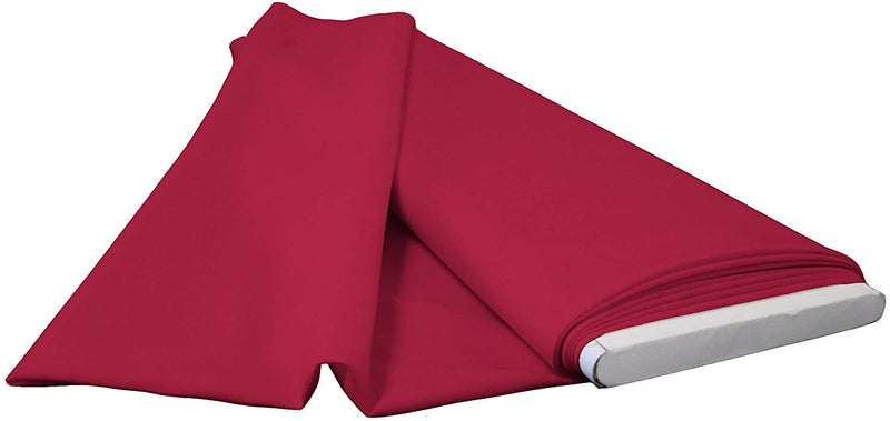 Polyester Poplin - Cranberry - Flat Fold Solid Color 60