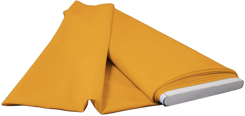 Polyester Poplin - Gold - Flat Fold Solid Color 60