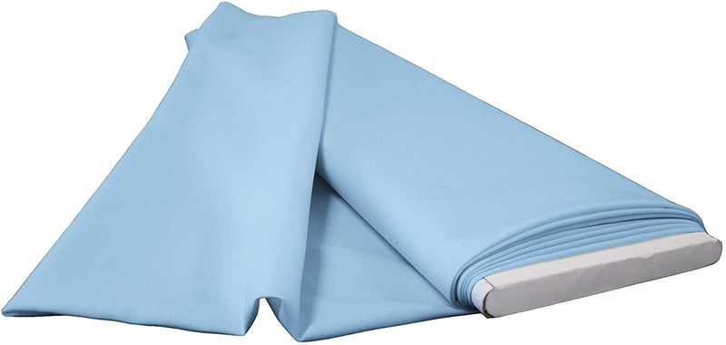 Polyester Poplin - Light Blue - Flat Fold Solid Color 60